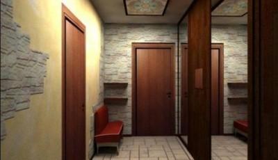обои для узкого коридора
