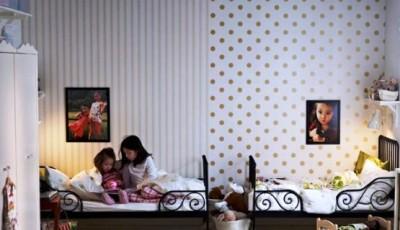 обои компаньоны в детскую комнату