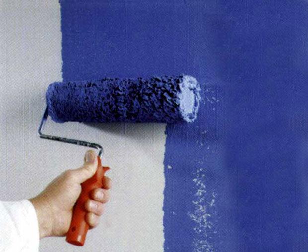 Клей для стеклообоев покраска