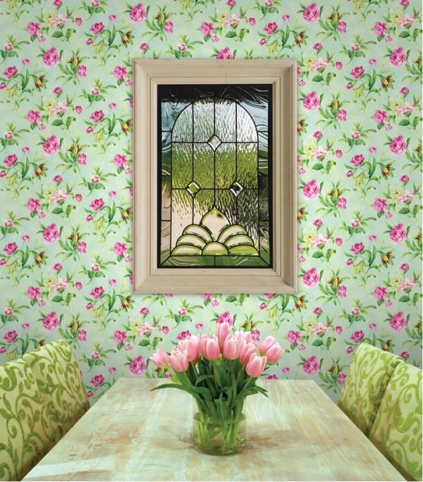 Клей для бумажных обоев цветы
