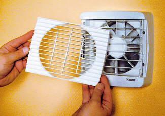 Качественная вентиляция помогает бороться с плесенью
