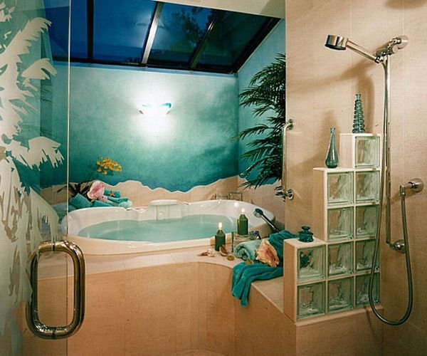 Tropical bathrooms