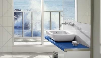 Фотообои для ванной комнаты море