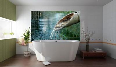 Фотообои для ванной комнаты вода
