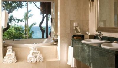 фотообои для ванной комнаты фото берег пальмы