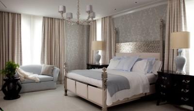 модные обои для спальни 2016 года пастельных тонов