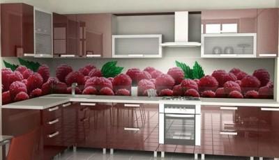Фотообои 3д на кухню ягода
