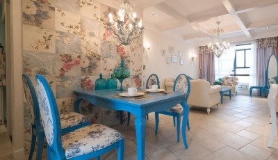 Фотообои для кухни возле стола разные цветы