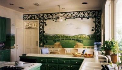 фото фотообои на кухню