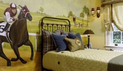 фотообои лошади скачки