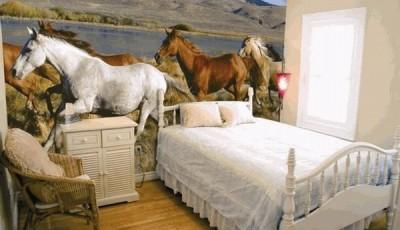 фотообои лошади скачут