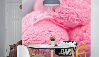 фотообои на кухню мороженное