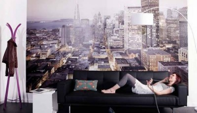 Фотообои город небоскребы
