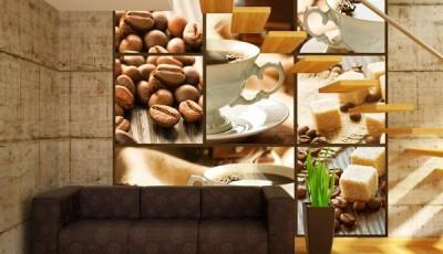Фотообои кофе интерьер с лестницей