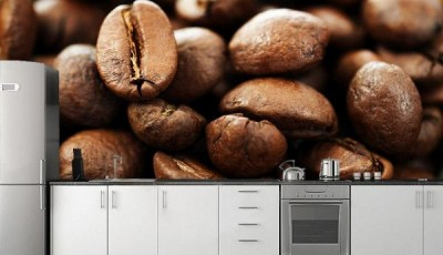 Фотообои кофе кухня зерна