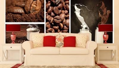Фотообои кофе молоко