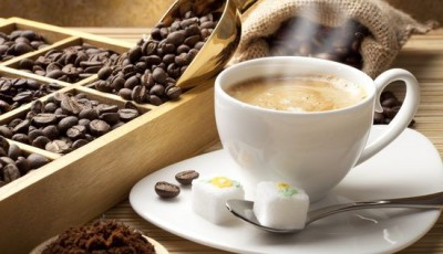 Фотообои кофе с сахаром