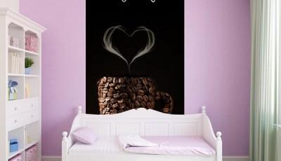 Фотообои кофе спальня