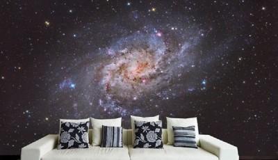 Фотообои со звездным небом на стену