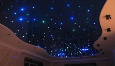 Фотообои со звездным небом после ремонта