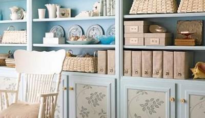 Как обклеить дверцы шкафа обоями красиво