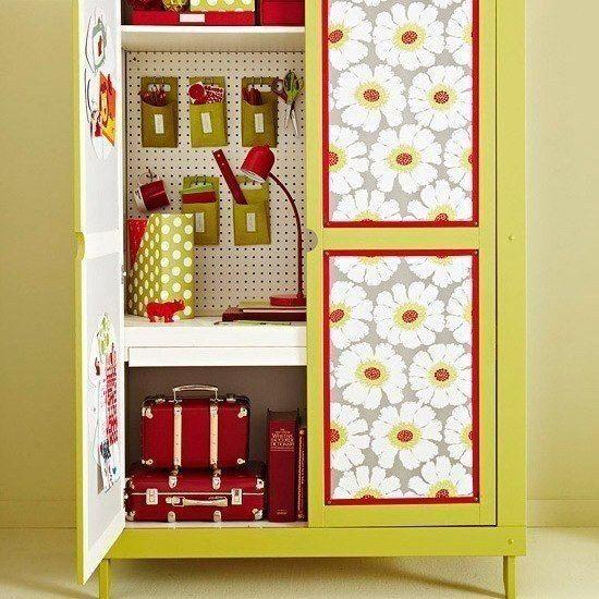 Как декорировать своими руками шкаф