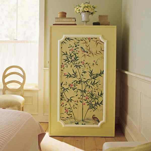 Как декорировать дверь шкафа своими руками
