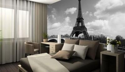 фотообои Париж спальня