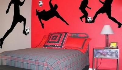 фотообои футбол наклейки