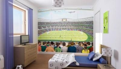 фотообои футбольная тематика