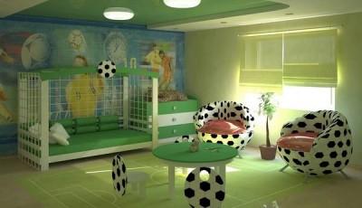 фотообои футбольная тематика в детской
