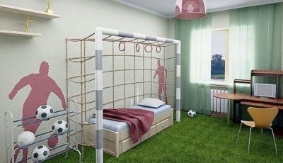 фотообои и ворота в детской комнате