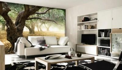 фотообои лес большое дерево