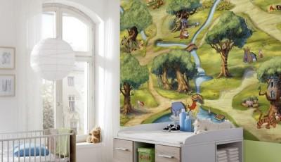 фотообои лес для детской комнаты