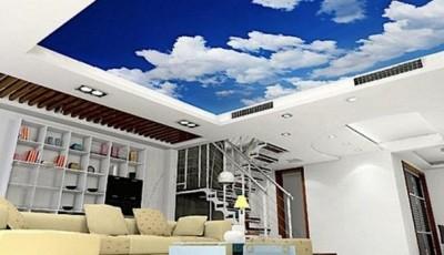 фотообои на потолок небо с облаками