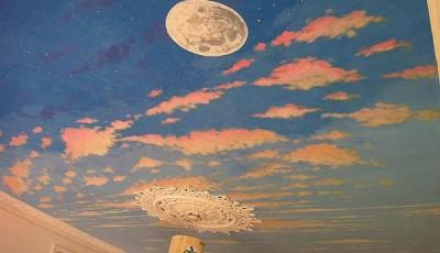 фотообои небо облака звезды