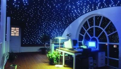 фотообои небо со звездами на потолке