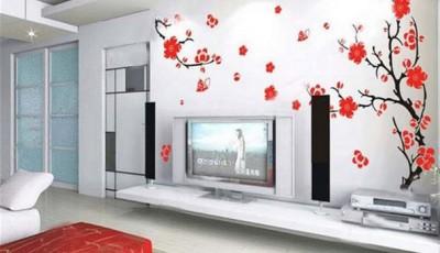 фотообои сакура в комнате