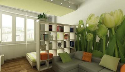 фотообои тюльпаны в студии