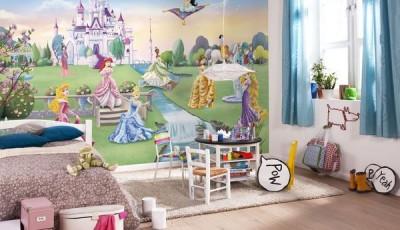 фотообои в детскую девочки принцессы