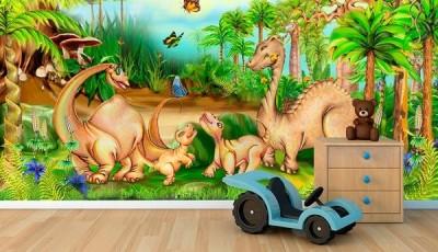 фотообои в детскую динозавры