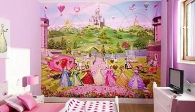 фотообои в детскую комнату девочки