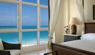 Фотообои окно пляж