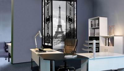 Фотообои вид из окна париж