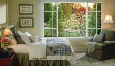 Фотообои вид из окна сад