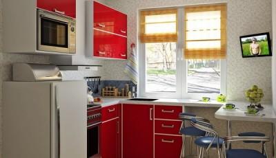 Обои для маленькой кухни в хрущевке светлые с рисунками