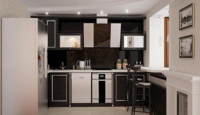 Обои для маленькой узкой кухни в хрущевке белого цвета