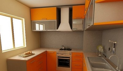 Обои для маленькой узкой кухни в хрущевке светло желтые