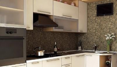 Обои для маленькой узкой кухни в хрущевке темно серые