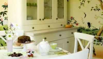 Обои для маленькой узкой кухни в хрущевке восточный стиль
